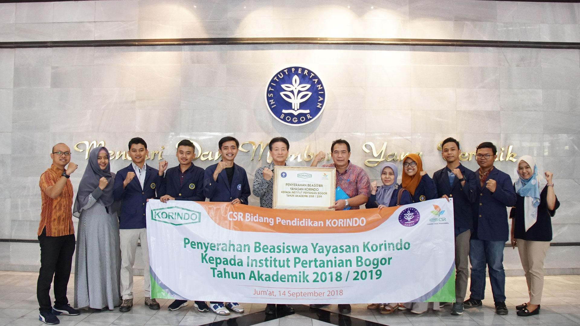 KORINDO Scholarship for the Nation's Children