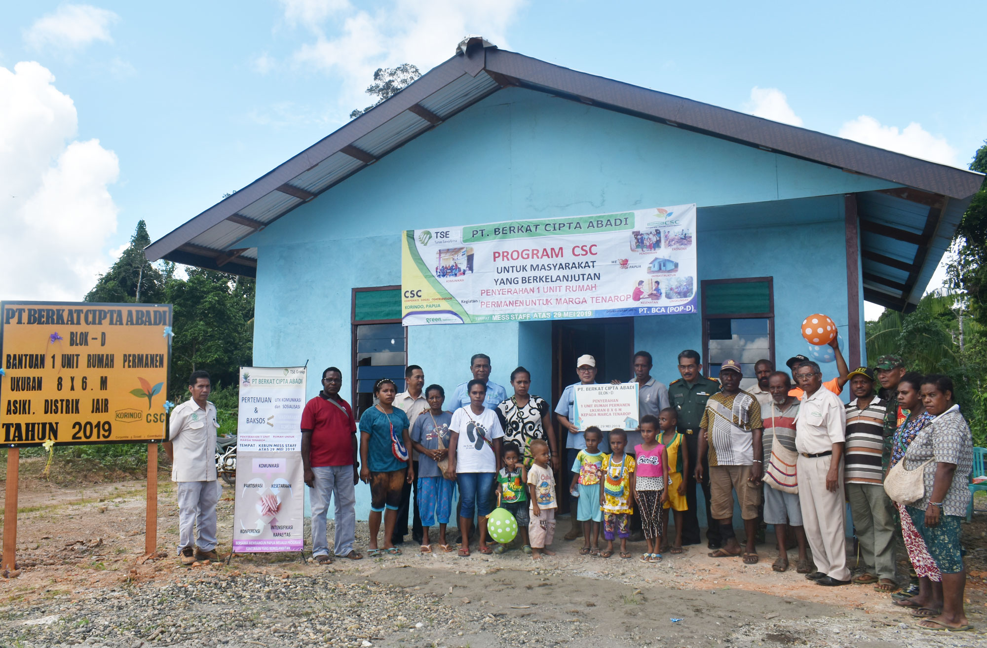 Korindo Papua CSC: From Health Counseling to Building Healthy Home for Community